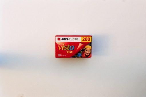 AgfaPhoto Vista plus 200 Color Negative Film (35mm Roll Film, 36 Exposures)