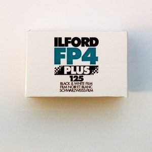 Ilford FP4 Plus Black and White Negative Film (35mm Roll Film, 36 Exposures)
