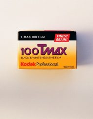 Kodak Professional T-Max 100 Black and White Negative Film (35mm Roll Film, 36 Exposures)