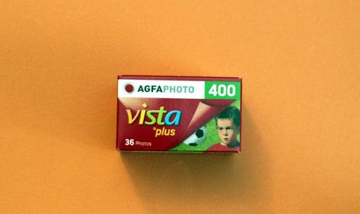 AgfaPhoto Vista plus 400 Color Negative Film (35mm Roll Film, 36 Exposures)