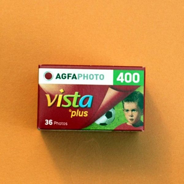 AgfaPhoto Vista plus 400 Color Negative Film (35mm Roll Film, 36 Exposures)