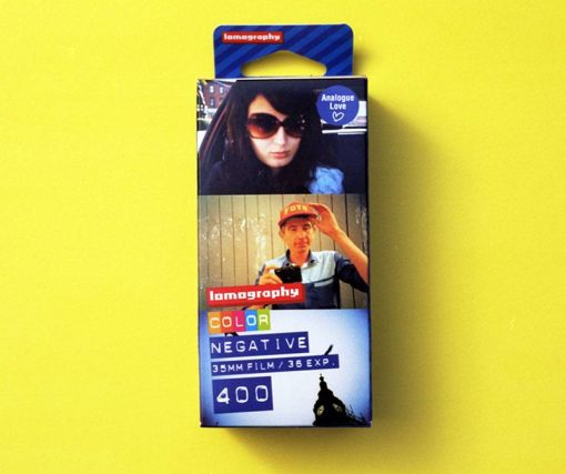 Lomography 400 Color Negative Film (35mm Roll Film, 36 Exposures, 3 Pack)
