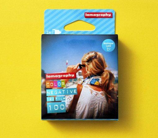 Lomography 100 Color Negative Film (120 Roll Film, 3 Pack)