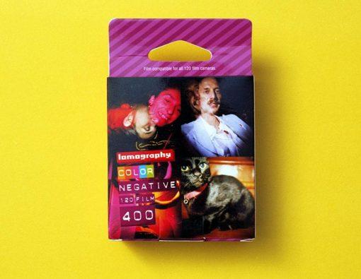 Lomography 400 Color Negative Film (120 Roll Film, 3 Pack)