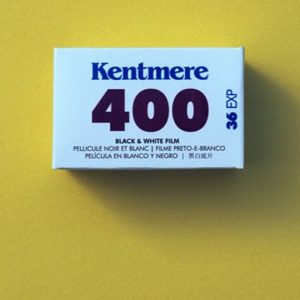Kentmere 400 Black and White Negative Film (35mm Roll Film, 36 Exposures)