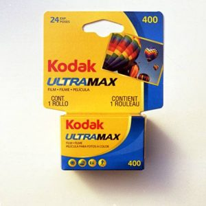 Kodak GC/UltraMax 400 Color Negative Film (35mm Roll Film, 36 Exposures)