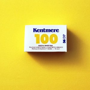 Kentmere 100 Black and White Negative Film (35mm Roll Film, 36 Exposures)