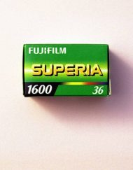 Fujifilm Fujicolor Superia 1600 Color Negative Film