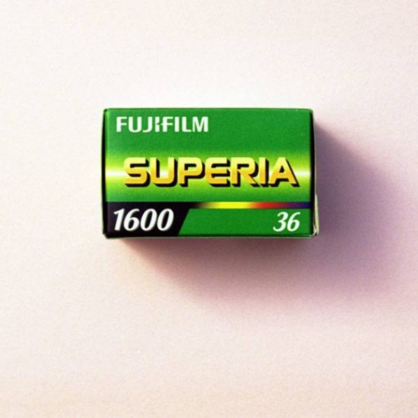 Fujifilm Fujicolor Superia 1600 Color Negative Film