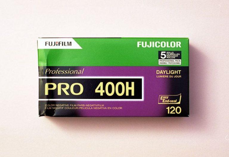 Fujifilm Fujicolor PRO 400H Professional Color Negative Film (120 Roll Film, 5 Pack)