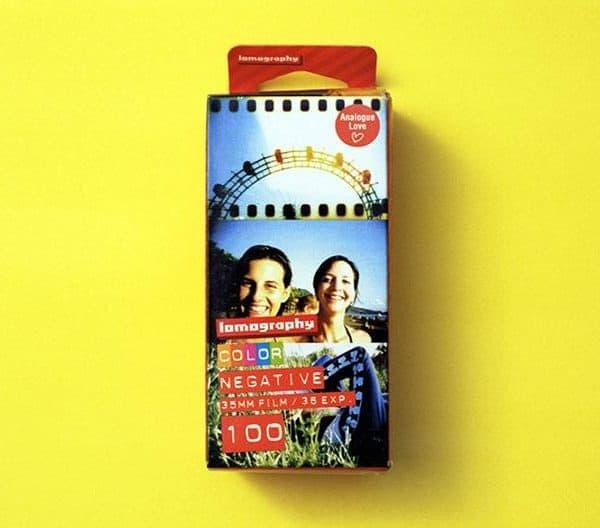 Lomography 100 Color Negative Film (35mm Roll Film, 36 Exposures, 3 Pack)