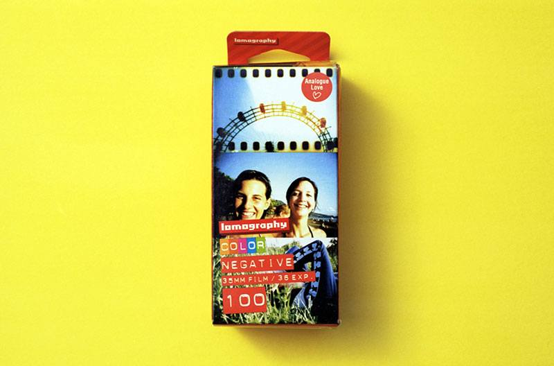 Lomography 100 Color Negative Film (35mm Roll Film, 36 Exposures, 3 Pack)