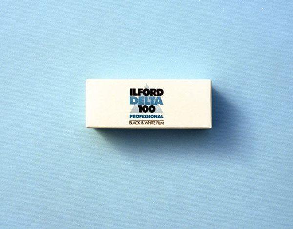 Ilford Delta 100 Professional Black and White Negative Film (120 Roll Film)