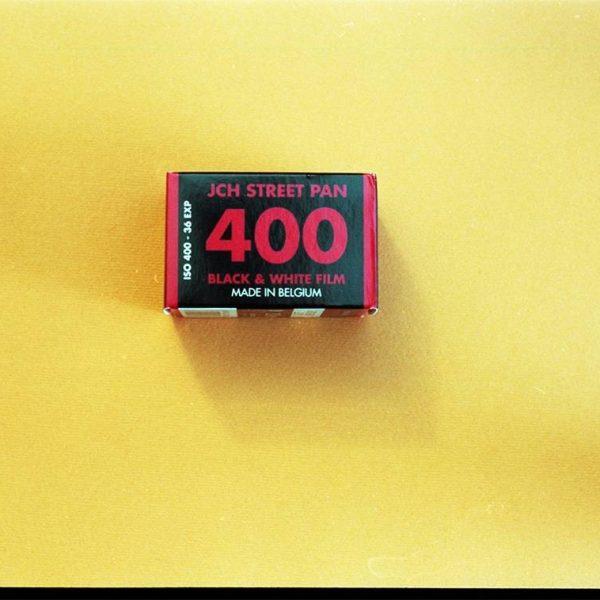 JCH Street Pan 400 Black & White Film (35mm Roll Film, 36 Exposures)