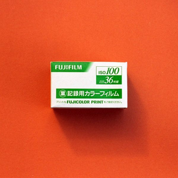 Fuji Industrial 100 Color Negative Film (35mm Roll Film, 36 Exposures)