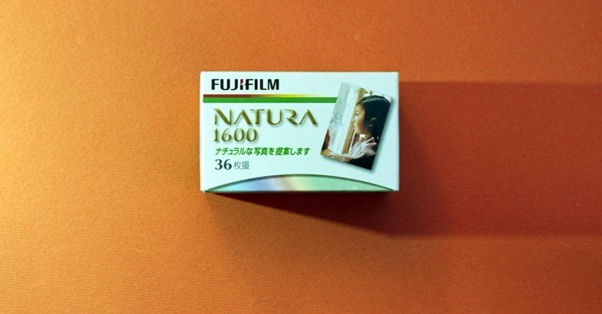 Fujifilm Natura 1600 Color Negative Film (35 mm, 36 exposures)
