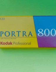Kodak Professional Portra 800 Color Negative Film (120 Roll Film)