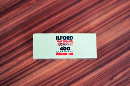 Ilford XP2 Super Black and White Negative Film (120 Roll Film, Single Roll)