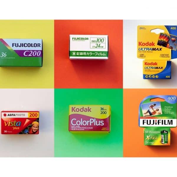 Cheap Colour Film Combo Pack (35mm Film, 6 rolls)