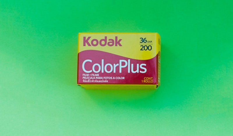 Kodak ColorPlus 200 Color Negative Film (35mm Roll Film, 36 Exposures)