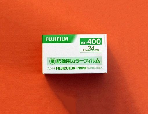 Fuji Industrial 400 Color Negative Film (35mm Roll Film, 24 Exposures)