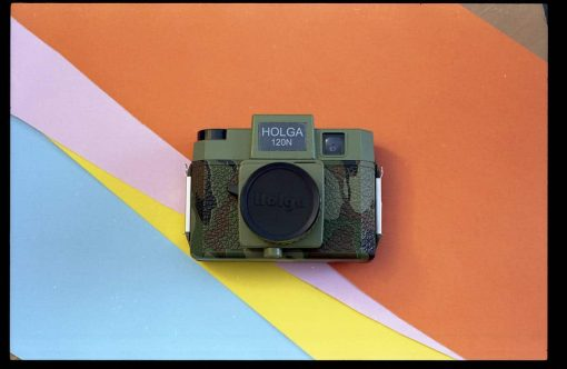 Holga 120N Holgawood Commando Camera (Medium Format 120 Camera)
