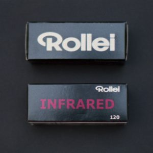 Rollei Infrared 400 Black and White Negative Film (120 Roll Film)