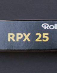 Rollei RPX 25 Black and White Negative Film (120 Roll Film)
