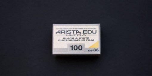 Arista EDU ULTRA ISO 100 Black & White Film (35mm Roll Film, 36 Exposures)