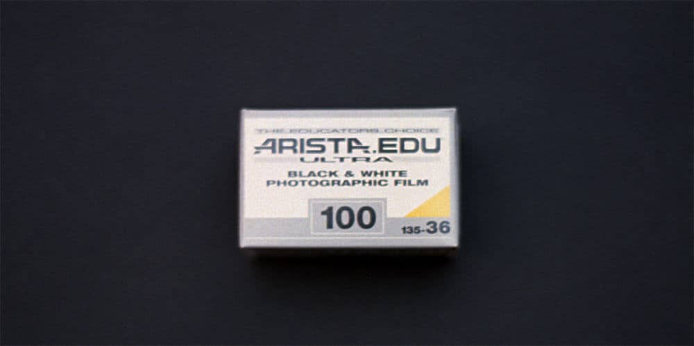 Arista EDU ULTRA ISO 100 Black & White Film (35mm Roll Film, 36 Exposures)