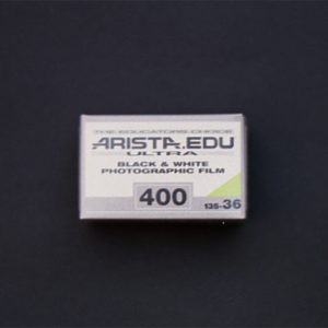 Arista EDU ULTRA ISO 400 Black & White Film, (35mm Roll Film, 36 Exposures, non DX-coded)