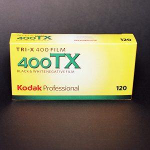 Kodak Professional Tri-X 400 Black and White Negative Film (120 Roll Film)