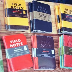 Field Notes notebooks