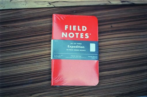 Field Notes Expedition (THREE WATERPROOF BOOKS)