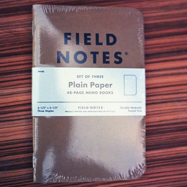 Field Notes Original Kraft Plain (3-PACK)