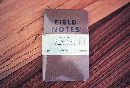 Field Notes Original Kraft Ruled (3-PACK)