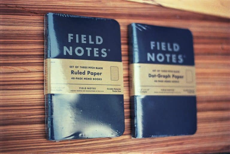 Field Notes Pitch Black (3-PACK)