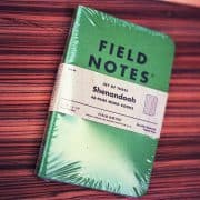Field Notes Shenandoah (THREE 48-PAGE MEMO BOOKS)