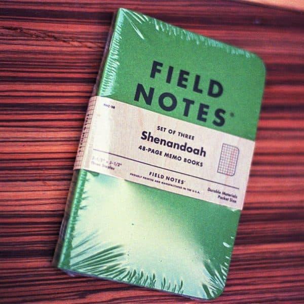 Field Notes Shenandoah (THREE 48-PAGE MEMO BOOKS)