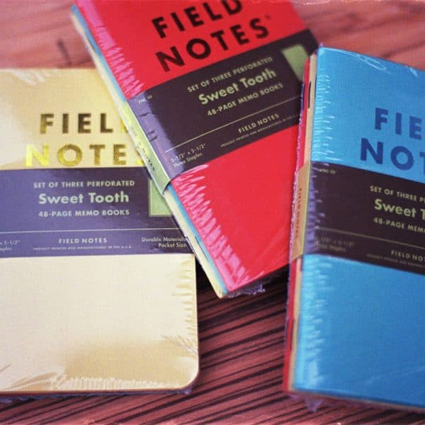 Field Notes Sweet Tooth (THREE 48-PAGE MEMO BOOKS)