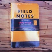 Field Notes Utility Graph (THREE 48-PAGE MEMO BOOKS)