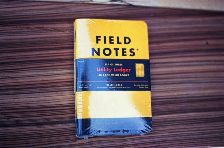 Field Notes Utility Ledger (THREE 48-PAGE MEMO BOOKS)