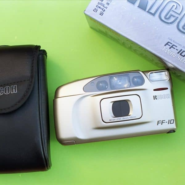 Ricoh FF-10 Twin Super Date (New Old Stock, Unopened, 35mm Point-and-Shoot Camera)