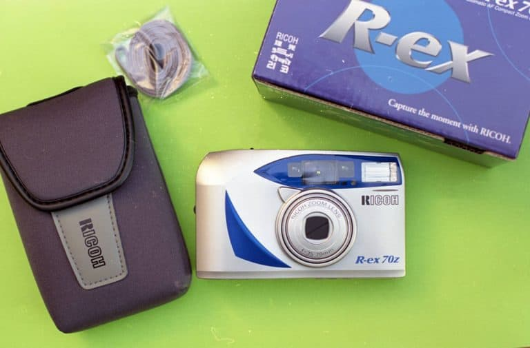 Ricoh R-ex 70z (New Old Stock, Unopened, 35mm Point-and-Shoot Camera)