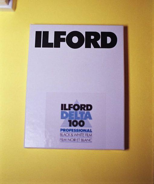 Ilford Delta 100 Professional 4x5 Black & White Sheet Film (25 Sheets)