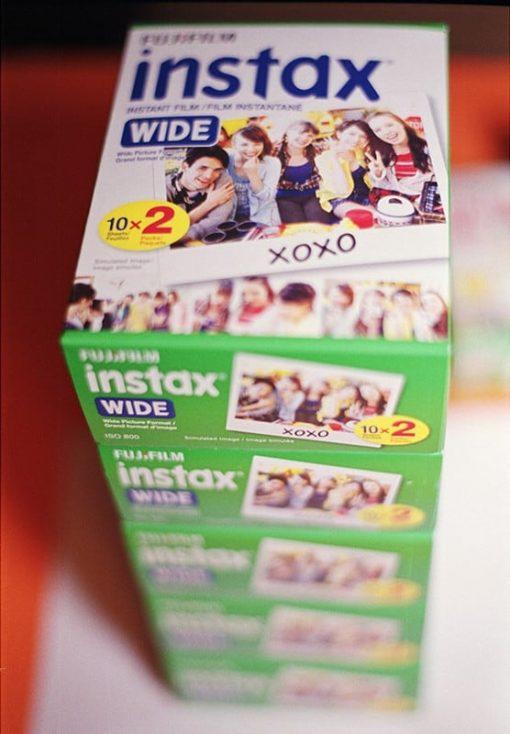Fujifilm Instax Wide Film (Twin Pack, 20 Exposures)