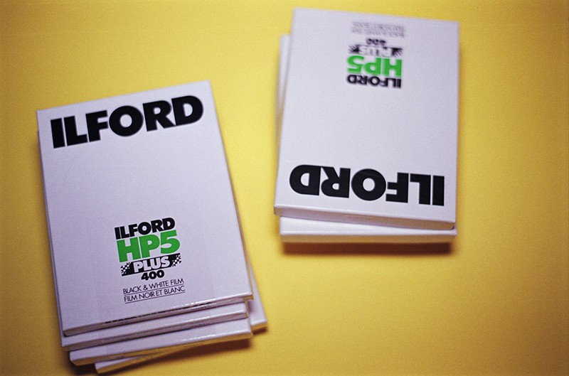 Ilford HP5+ 4x5 Black & White Sheet Film (25 Sheets)