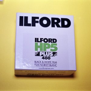 Ilford HP5 Plus Black and White Film (35mm Bulk Roll Film, 100' Roll)