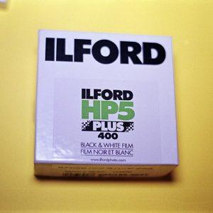 Ilford HP5 Plus Black and White Film (35mm Bulk Roll Film, 100' Roll)