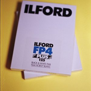 Ilford FP4+ 4x5 Black & White Sheet Film (25 Sheets)